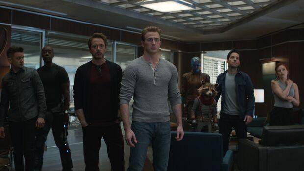 Avengers: Endgame – Die alten Rächer treten ab