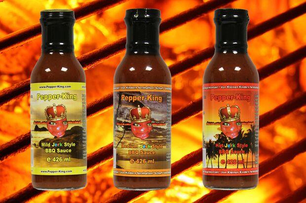 BBQ Sauce von Pepper King