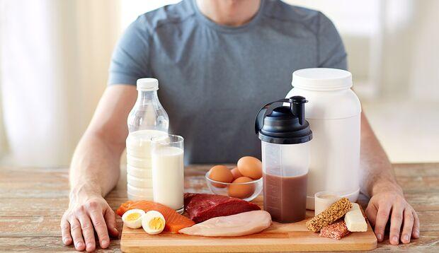 BCAAs sind in vielen eiweißreichen Lebensmitteln enthalten