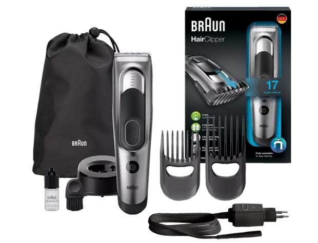 BRAUN HC 5090 Haarschneider eignet sich perfekt, um selber die Haare zu schneiden