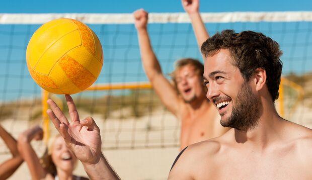 Baggern, werfen, schlagen: Bleiben Sie am Ball!