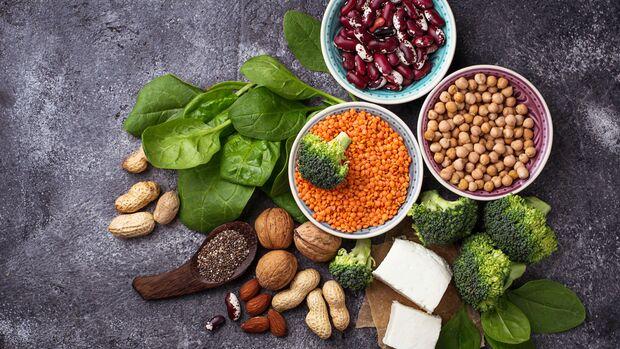 Ballaststoffe und Proteine halten lange satt