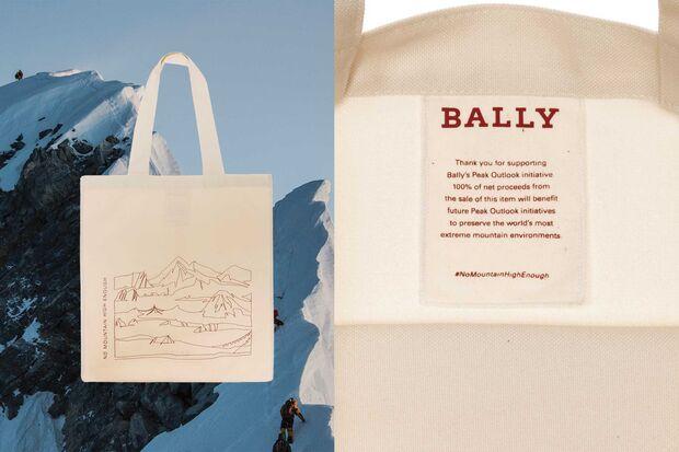 Bally Peak Outlook Tote Bag