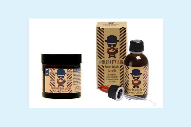 Bartpflege Produkte von Barba Italiana