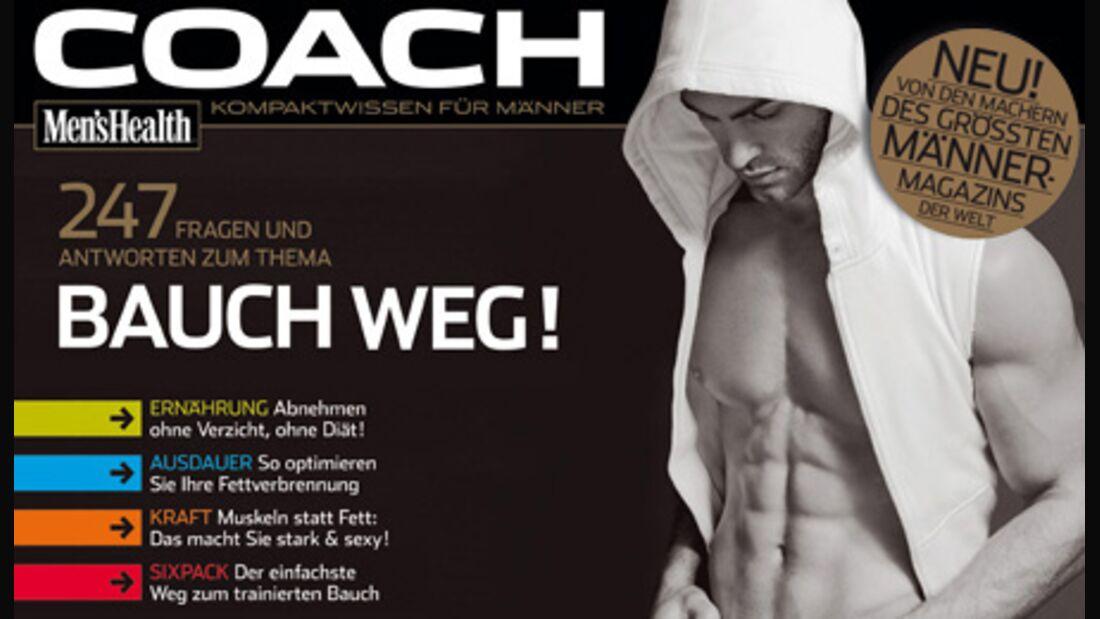 Bauch weg: Der COACH jetzt als Download