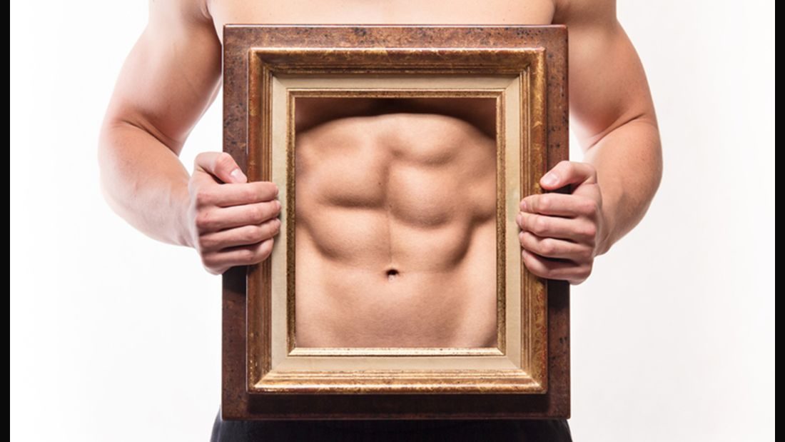 Bauchmuskeln wollen den ganzen Tag über gefordert werden