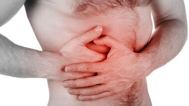 Bauchschmerzen durch nervösen Magen