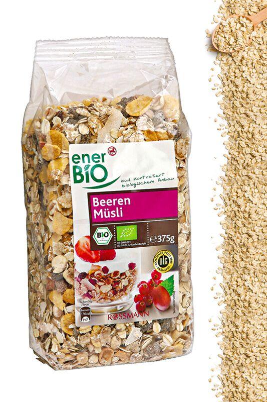 Beeren-Müsli von ener BIO