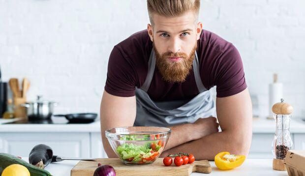 Bei Basenfasten isst man sehr viel Gemüse