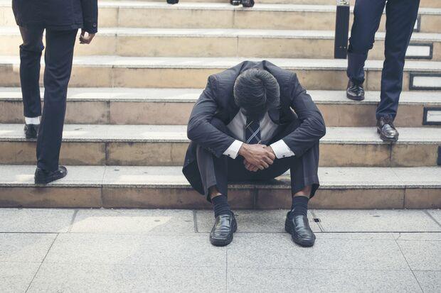 Bei Burnout droht die soziale Isolation