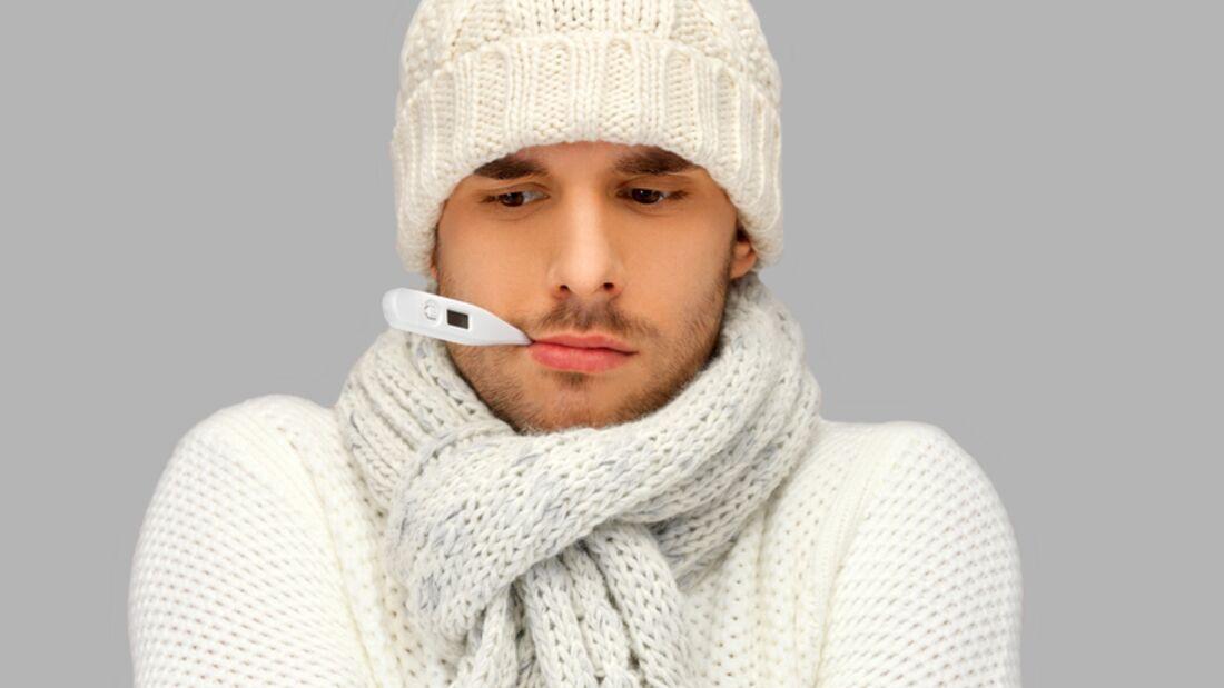 Bei Erkältungen sollten Sie nicht nur ein Thermometer im Haus haben