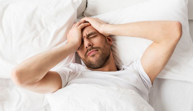 Bei Schmerzen in den Nasennebenhöhlen sollten Sie im Bett bleiben