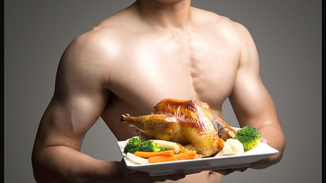 Bei der LOGI-Methode kommen vor allem Fleisch und Gemüse auf den Teller
