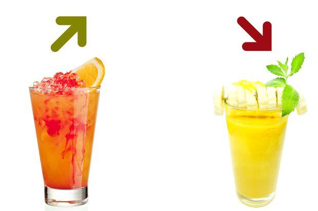Beim Kalorienduell heißt es lieber Fruit-Punch als Jogger