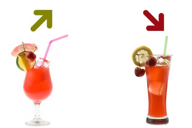 Beim Kalorienduell heißt es lieber Mai Tai als Zombie