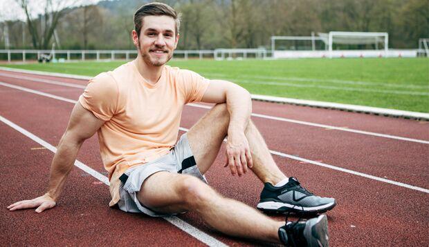 Beim Sport hat Christopher Zeit für sich