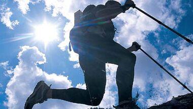 Beim Sport kann sich ein Wärmestau unter der Kleidung negativ auf den Puls auswirken
