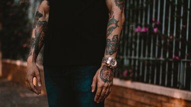 Beliebte Tattoo-Motive für Männer