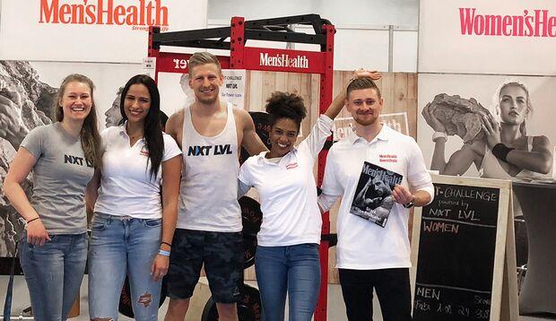 Besuchen Sie Men's Health auf der weltweit führenden Fitness-Messe