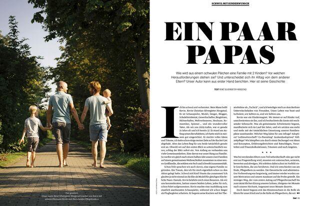 Bilderbuchfamilie: Blogger @papapi mit Mann und Kindern