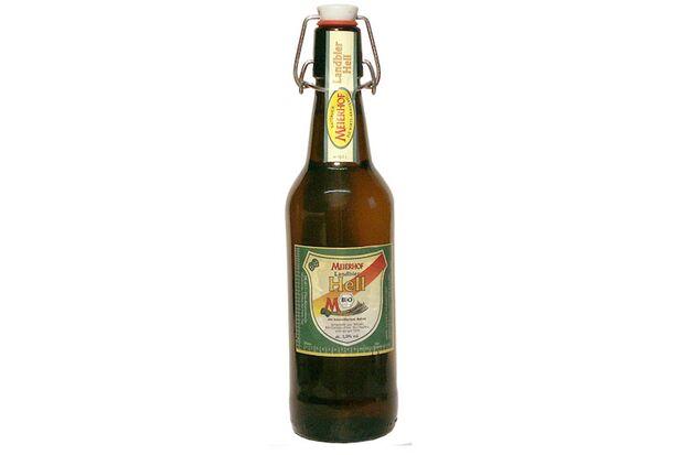 Bio-Biere im Test: Meierhof Landbier Hell