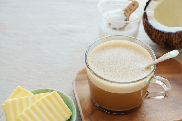 Biohacker-Kaffee enthält versorgt den Körper mit wichtigen Fetten.