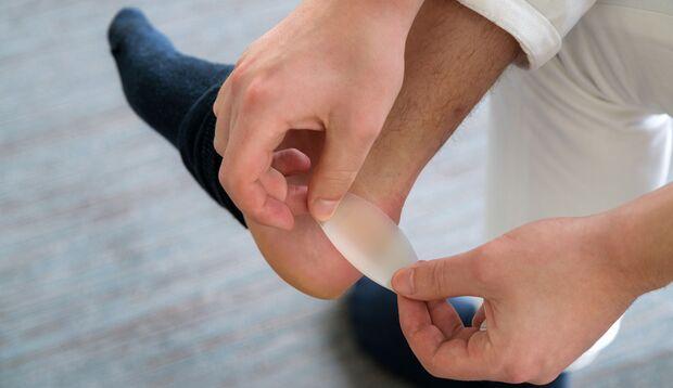Blasenpflaster unterstützen den Heilungsprozess bei Blasen am Fuß