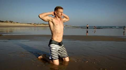 Bodyweight-Strand-Workout - Sixpack in 4 Wochen