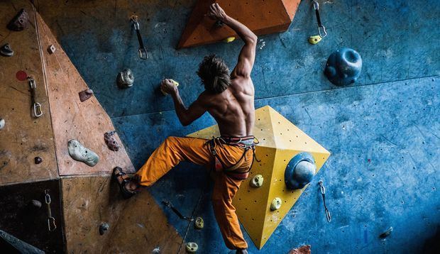 Bouldern als Alternative zum Gym