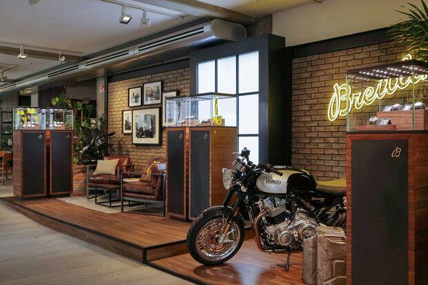 Breitling Popup-Store Berlin