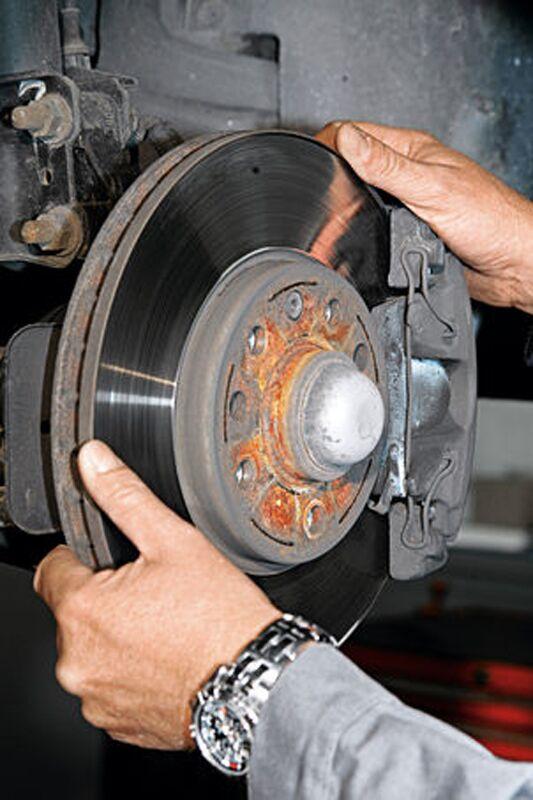 Bremsscheiben-Check