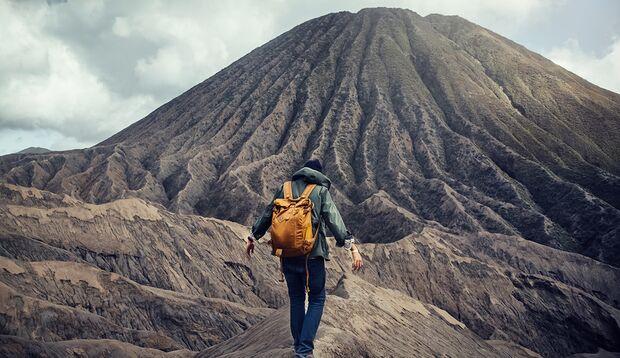 Bucket-List-Idee: Sehen Sie sich einen Vulkan aus der Nähe an