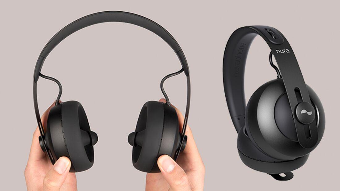 Bügel-Kopfhörer mit Hörtest: Nuraphones von Nura