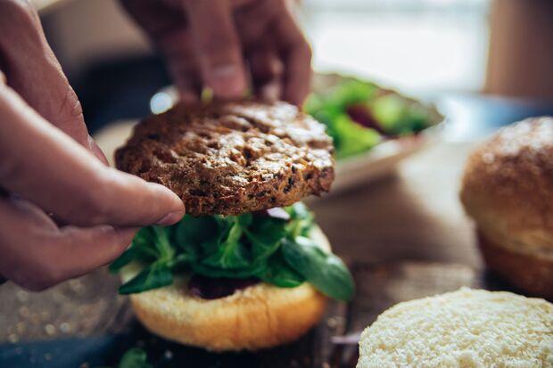 Burger schmecken auch vegetarisch lecker