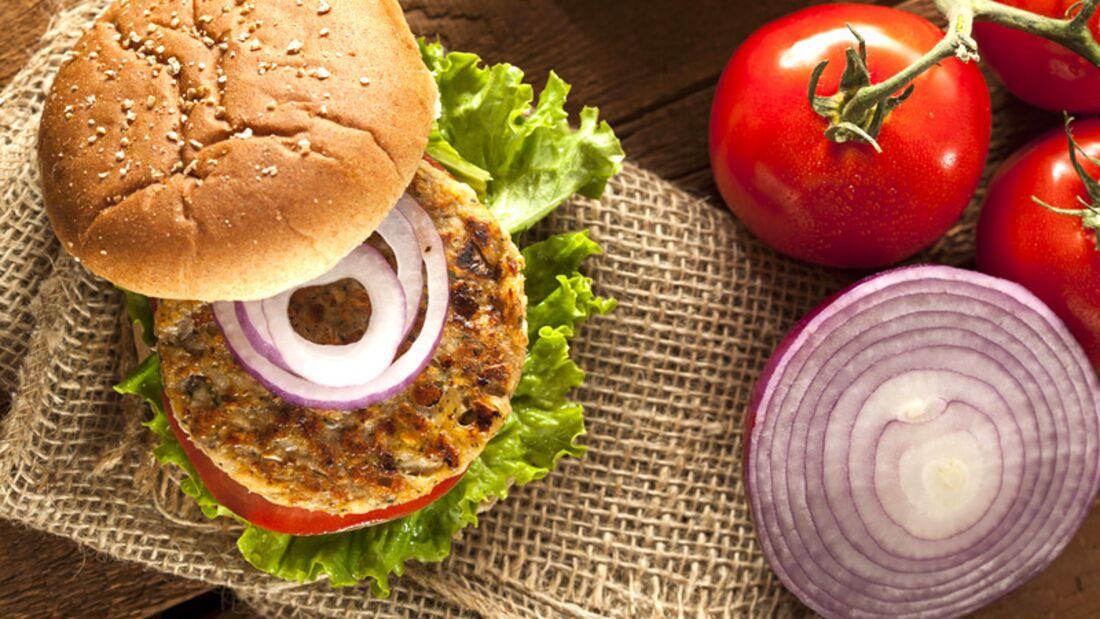 Burger sind auch fleischlos lecker