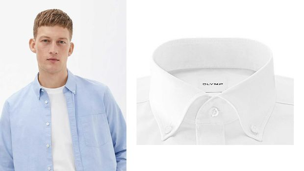 Button-Down-Kragen Arket