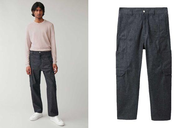COS Cargo Denim-Pants