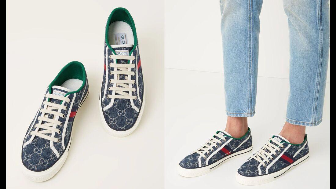 Canvas-Sneaker FW 2021 / Gucci