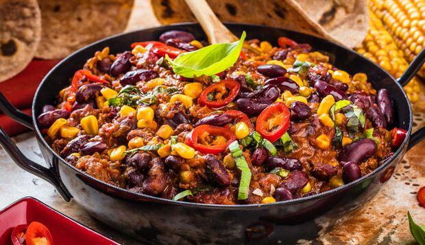 Chili con carne ist sehr lecker, kann aber Blähungen auslösen
