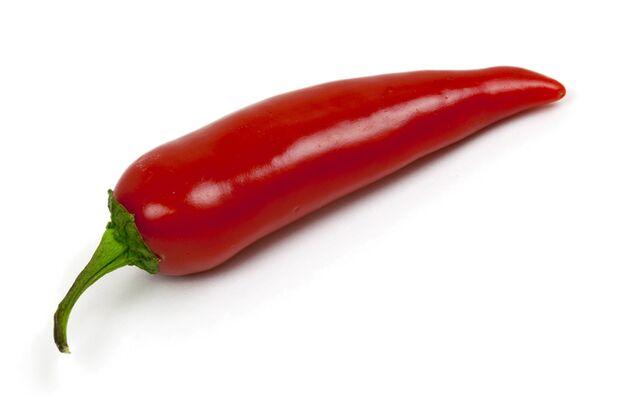 Chilischoten sind nützlich für eine gesunde Ernährung