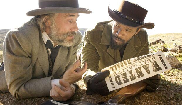 """Christoph Waltz und Jamie Foxx schießen sich in """"Django Unchained"""" durch Amerikas Sklavenplantagen"""