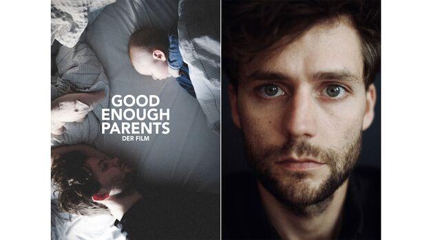 Collage setzt aus dem Filmplakat und dem Portrait von Domenik Schuster zusammen