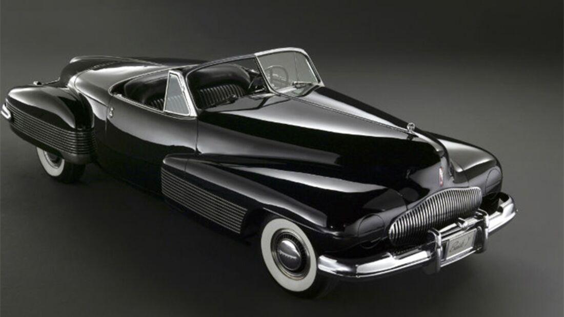 Coole Konzeptfahrzeuge: der Buick Y-Job von General Motors