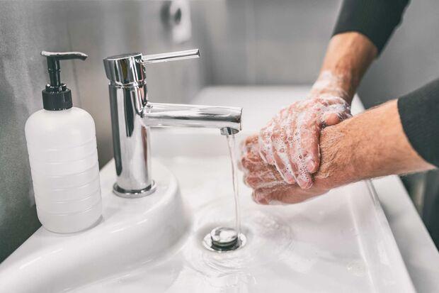 Covid-19 vermeiden - Hände waschen