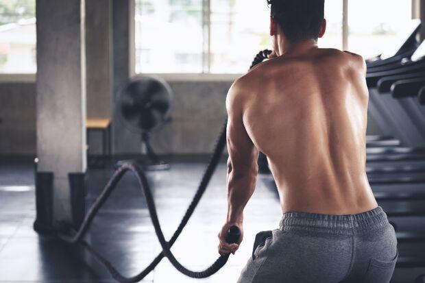 Cross Ropes sind ideal fürs Rückentraining