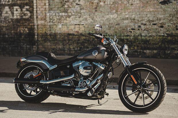Cruiser und Chopper 2015 / 2016: Harley Davidson Breakout