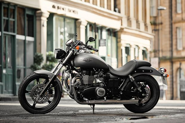 Cruiser und Chopper 2015: Triumph Speedmaster