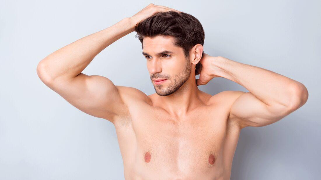 Darum sollten Männer ihre Achselhaare rasieren