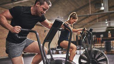 Das Air-Bike erobert die Gyms