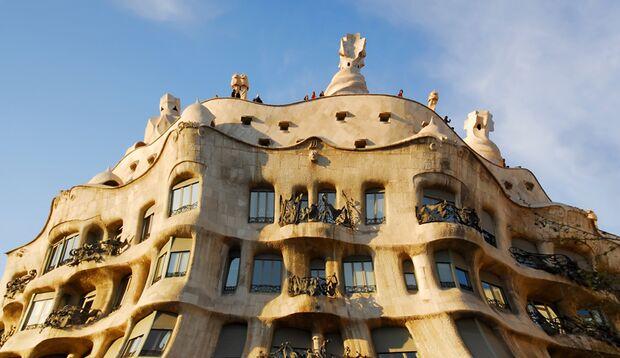 Das Casa Milà in Barcelona